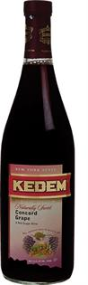 Kedem Naturally Sweet Concord Grape 750ml - Case of 12
